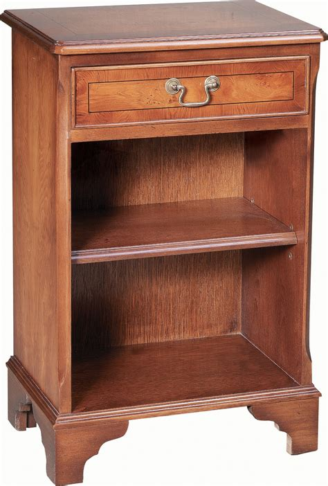 Bedside Bookcase by Small Open Bookcase 1 Drawer Bedside Cabinets