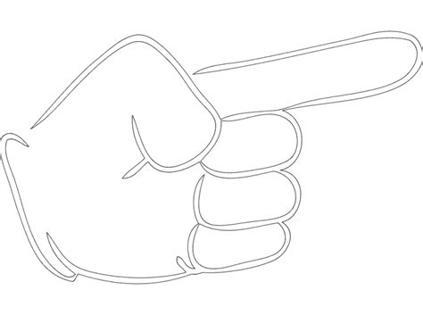 Metal Ladari With Pointing Finger Dxf File Free 3axis Co