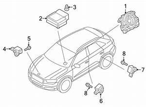 2015 Audi Q3 Sensor For Lateral Impact Acceleration