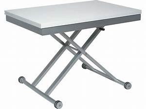 Table Extensible Conforama : table basse relevable extensible conforama table ~ Melissatoandfro.com Idées de Décoration