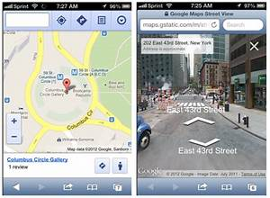 Street View Google Map : google maps for mobile an iphone user 39 s guide search engine land ~ Medecine-chirurgie-esthetiques.com Avis de Voitures