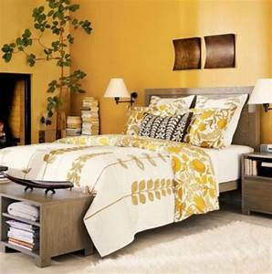 Sunny Yellow Accents In Bedrooms – 49 Stylish Ideas DigsDigs