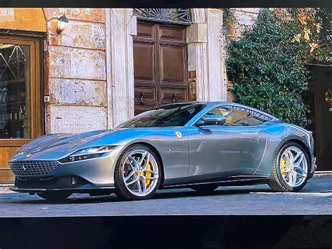 The ferrari roma was short on details when it was released a month ago. 「ASTON MARTIN V12 Speedster & Ferrari Roma in バーチャル ジュネーブショー」トレボンのブログ   トレボンのページ - みんカラ