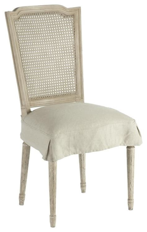 Grey Dining Room Chair Slipcovers by Aidan Gray Ethan Dining Chair With Slip Cover