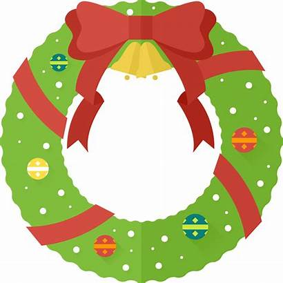 Wreath Christmas Clipart Clip Cartoon Garland Cliparts