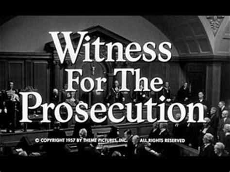 witness   prosecution  billy wilder