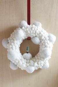 Faire Une Couronne De Noel : faire une couronne de no l soi m me ~ Preciouscoupons.com Idées de Décoration