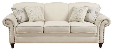 Traditional Style Loveseats by Sofa Traditional Sofa With Accent