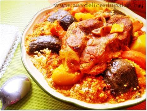 cuisine couscous traditionnel recette du couscous tunisien aux délices du palais