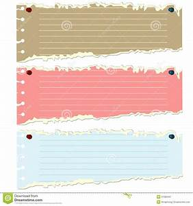 Torn Paper vector stock vector. Image of space, banner ...