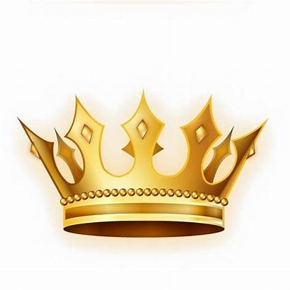 Crown Gold Vector Golden Transparent Crowns Background