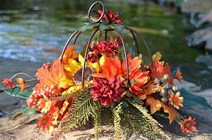 Bright, Fall, Colors, Inside, Of, A, Metal, Pumpkin