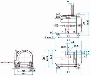 Nitto Kohki Vc0100 Diaphragm Pump Dual Type Ac Linear