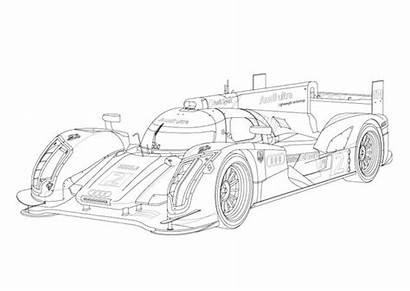 Coloring Race Cars Racing Motorist Autoevolution Colors