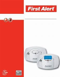First Alert Carbon Monoxide Alarm C0410b User Guide