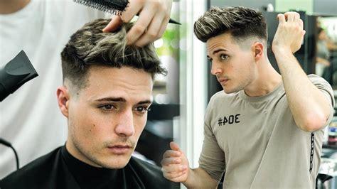 textured quiff skin fade  textured top haircut hair style ideas hair cut