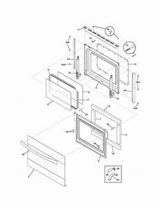 Kenmore Elite 79048083001 Electric Wall Oven Parts