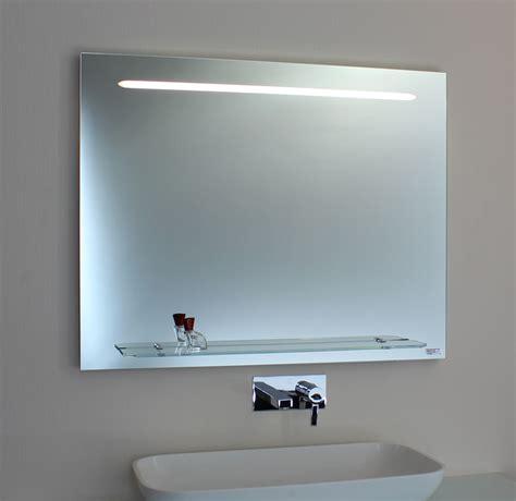 badspiegel mit ablage und beleuchtung lebright led badspiegel spiegelleuchte 23w 100 60cm wandspiegel lichtspiegel mit schalter