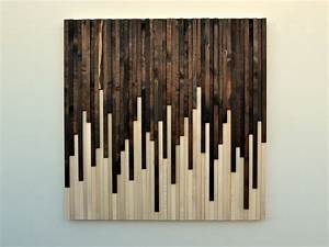 Rustic Wood Wall Art Wood Sculpture Wall by moderntextures