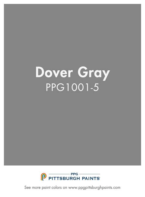 dover gray ppg1001 5 from ppg pittsburgh paints darker