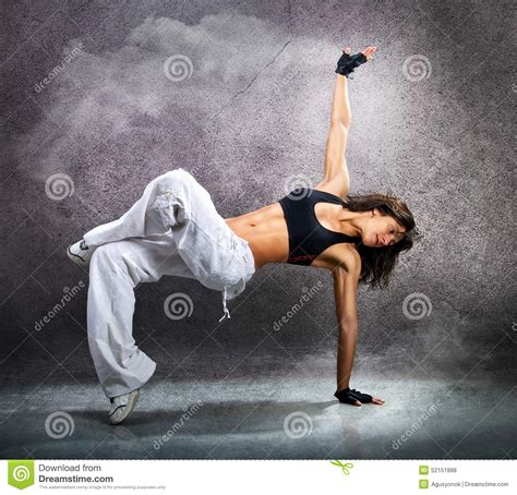 beautiful athletic modern hip hop stock photo image 52151888