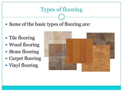 Types Of Flooring by Types Of Flooring For The House