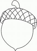 Coloring Pages Acorn Popular sketch template