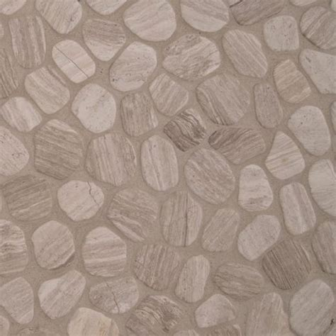 msi white oak pebbles tumbled tile backsplash smot peb