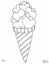 Coloring Ice Cream Pages Cone Printable Icecream Drawing Sheets Desserts Zigzag Cool Template Fresh Sheet Camera Bowl Printables Cones Drawings sketch template