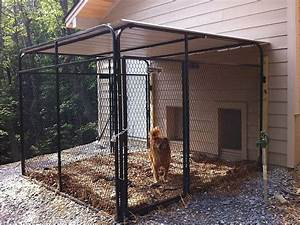 1000 ideas about outdoor dog runs on pinterest dog runs With backyard dog enclosures