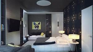 peinture chambre gris deco chambre gris et vert deco With chambre grise et noire