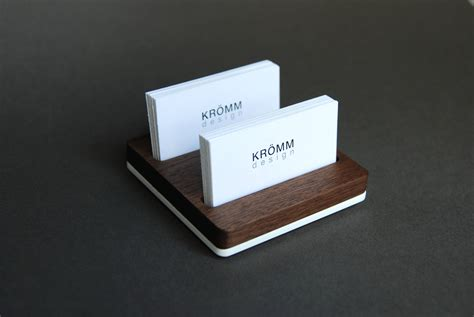 Business Card Holder For Desk / Wood Business Card Stand Business Cards And Leaflets In Spanish Card Quantity Huntsville Al Cvs Graphic Design Advertising Calgary