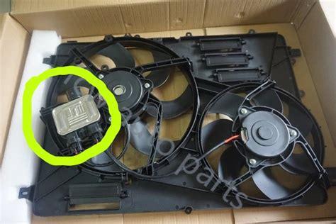 radiator cooling fan wont turn   volvo xc