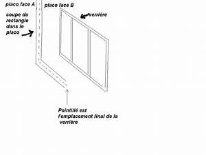 Pose Verriere Sur Placo : installer une verri re sur un mur en placo ~ Melissatoandfro.com Idées de Décoration