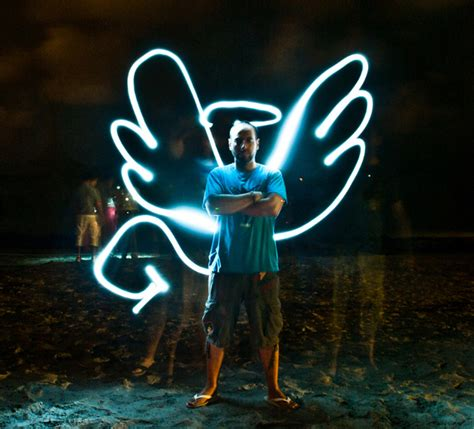 smashing examples  light painting photography