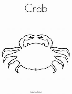 Crab Coloring Pages For Kids - AZ Coloring Pages