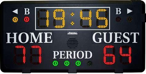 Basketball Scoreboards By Sportable Scoreboards