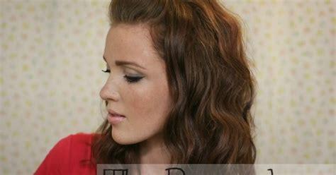 the freckled fox the basics hair week tutorial 2 the pompadour