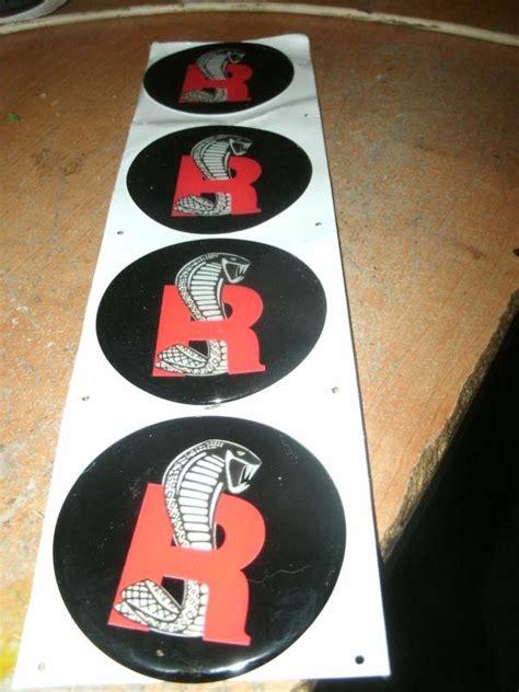 buy ford mustang svt cobra  snake wheel cap decals