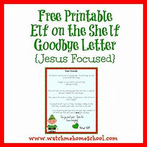 elf on the shelf letters letters and other great ideas With goodbye letter from elf on the shelf template