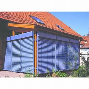 store venitien aluminium pour l39exterieur tir technologies With store venitien bois exterieur