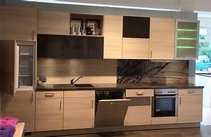 Kleine Küche Mit Elektrogeräten : nolte musterk che nolte kleine gem tliche k chenzeile mit elektroger ten f r den privaten ~ Sanjose-hotels-ca.com Haus und Dekorationen
