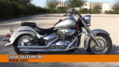 Used 2006 Suzuki Boulevard C50 Motorcycles For Sale In