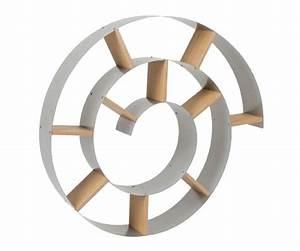 Range Cd Mural : etagre murale design snail cd dvd argent kare design ~ Teatrodelosmanantiales.com Idées de Décoration