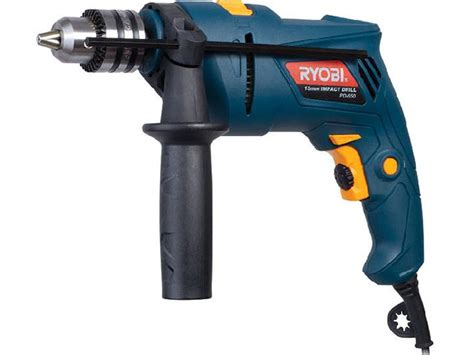 home garden diy ryobi  mm impact drill pd