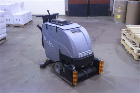 floor scrubber sweeper minimag walk behind floor scrubber