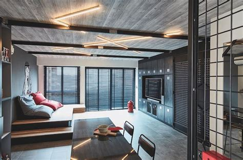 renovation  industrial style  room bto