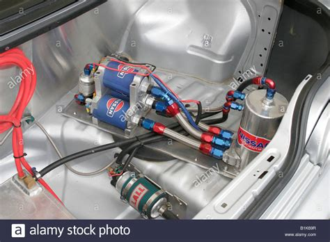 Wiring Up A Race Car by Extravegant Fuel System In The Boot Of A Modified Race Car