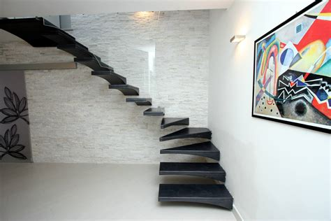 ringhiera di vetro gull wing resin staircase with glass banister chieti it