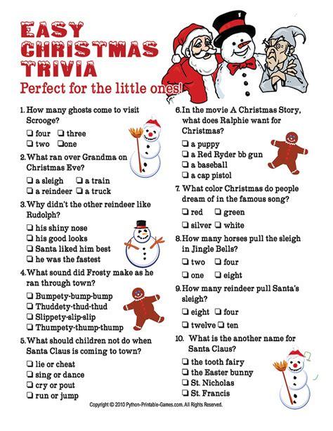 Christmas Trivia  Bowie News
